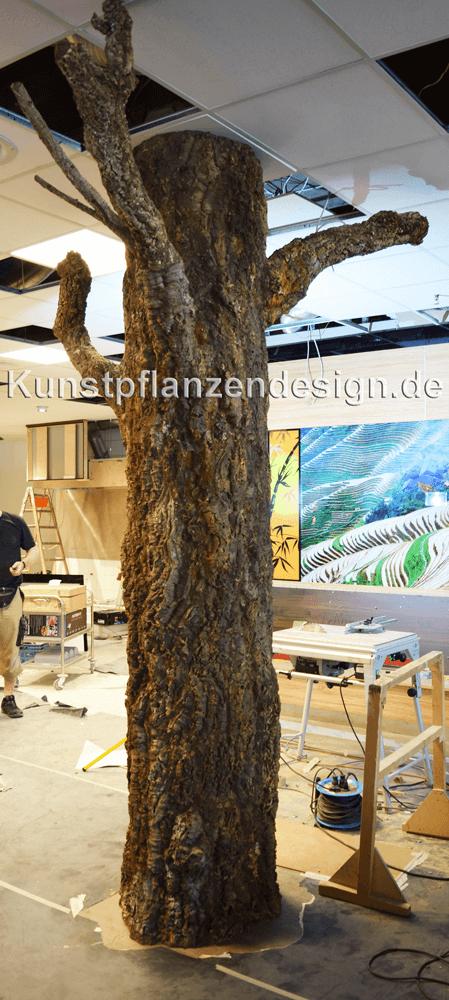 Baumstamm Deko Säule : naturnahe baumst me aus naturrinde liana kunstpflanzen ~ A.2002-acura-tl-radio.info Haus und Dekorationen