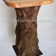 015 Baumstammtisch-mit Tischplatte